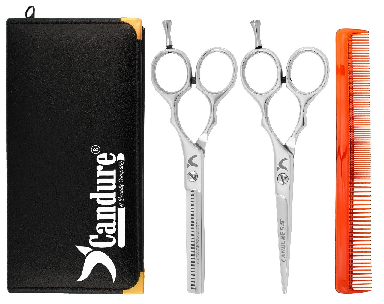 Amazon.com : Hairdressing Scissors Shears Kit - Hair Cutting ...