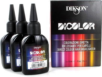 Dikson Dicolor 6 0 Rubio Oscuro Tinte Capilar - 210 ml ...