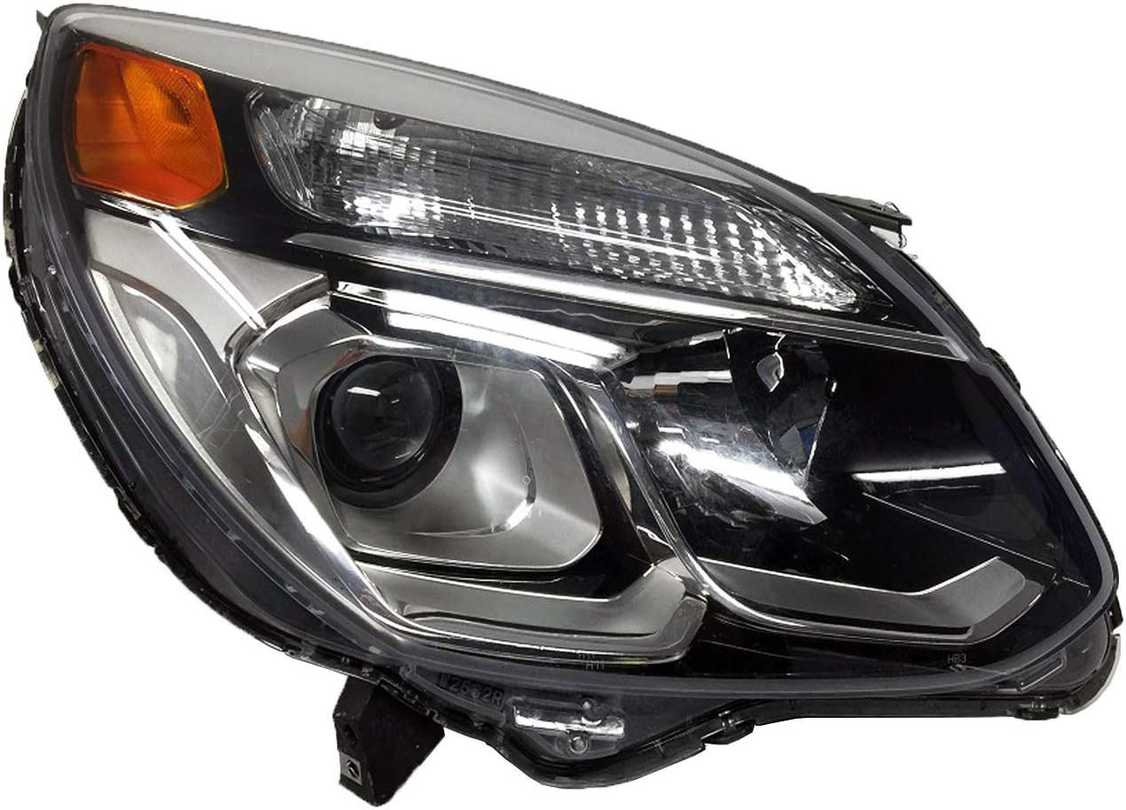 Multiple Manufactures GM2503424N Standard No variation Headlight Assembly