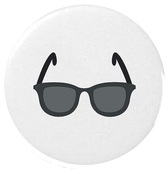 anteojos oscuros Emoji 25mm Botón / Dark Sunglasses Emoji ...