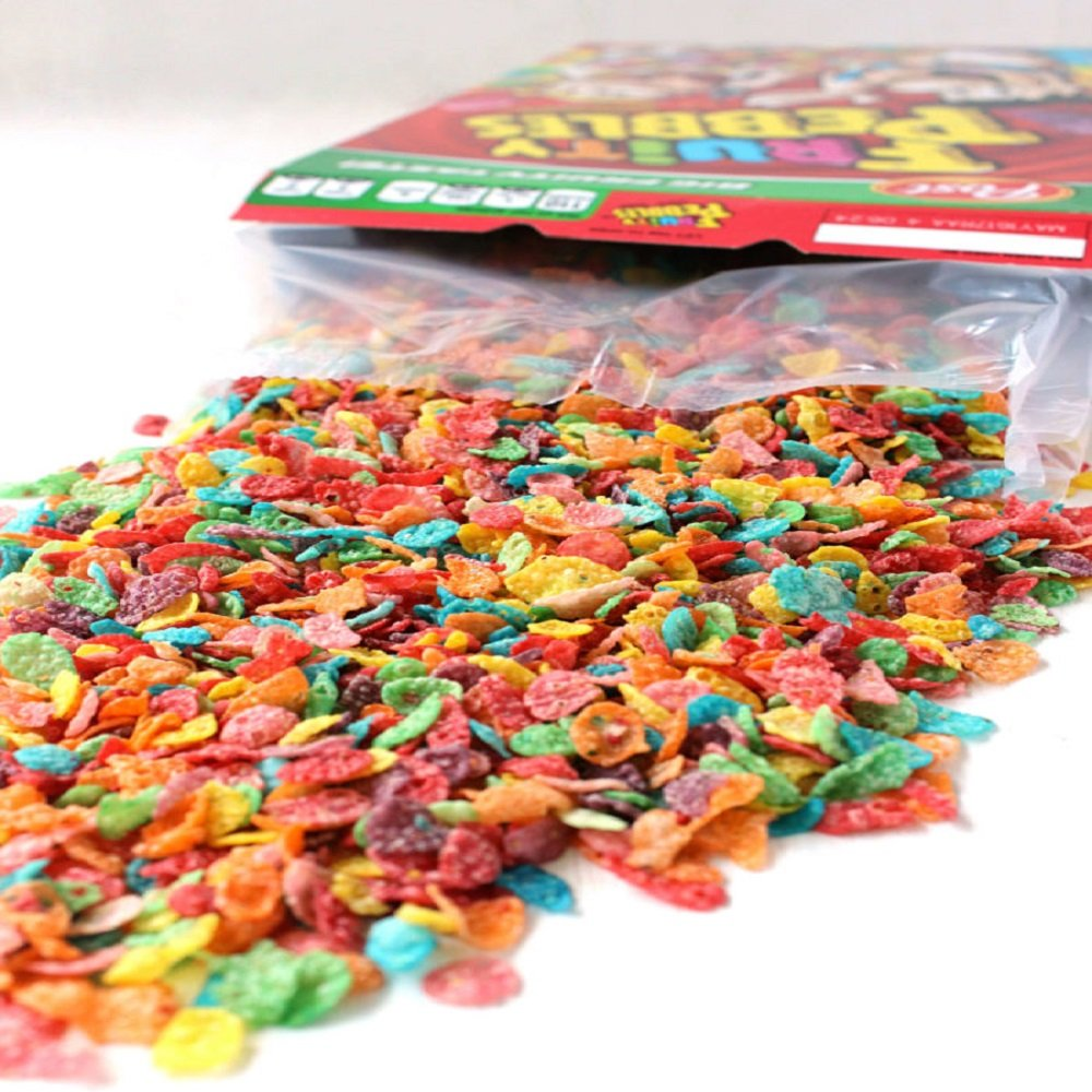 FRUITY PEBBLES FRAGRANCE OIL - 16 OZ/1 LB - FOR CANDLE & SOAP MAKING BY VIRGINIA CANDLE SUPPLY - FREE S&H IN USA