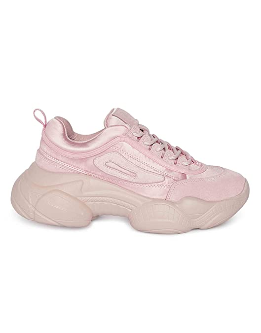 Pink Chunky Sneaker Shoes
