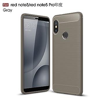 TianTa Funda Xiaomi Redmi Note 5 Carbon Fiber Case Ajuste ...