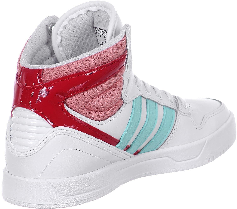 reputable site 962fc b98bd adidas Boys Court Attitude K Lace up Shoes Amazon.co.uk Shoe