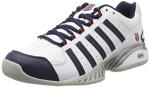 Mens Receiver III Tennis Shoes K-Swiss fQI72Jidx