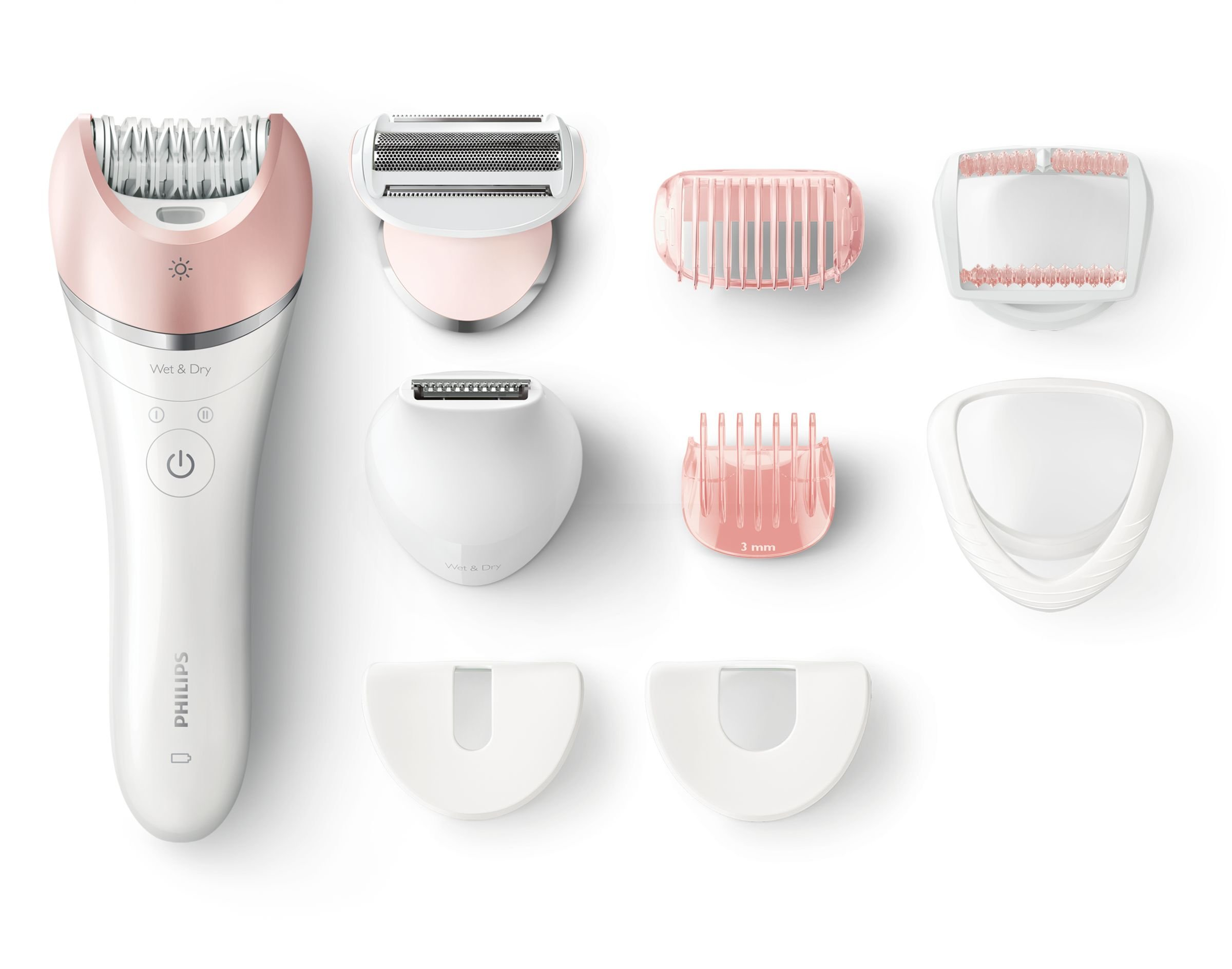 Philips Satinelle Advanced Wet & Dry cordless 10-Piece Epilator Kit by PHILIPS