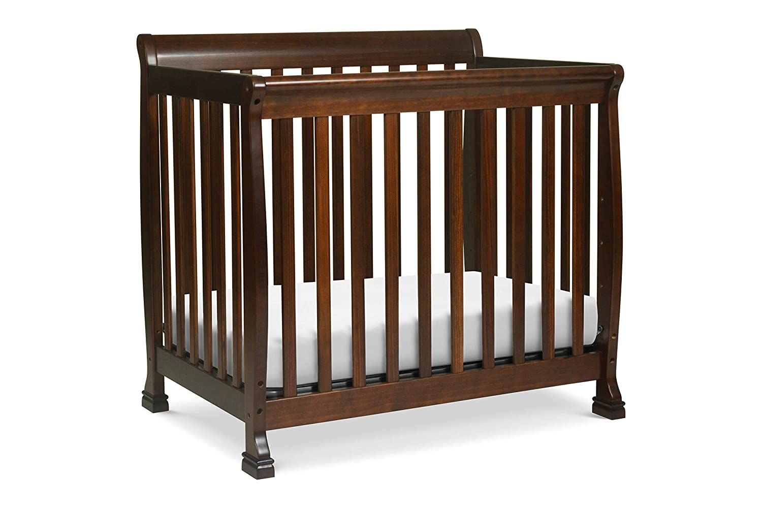 Amazon Com Davinci Kalani 2 In 1 Mini Crib And Twin Bed Espresso