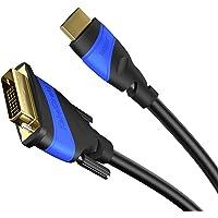 KabelDirekt - HDMI DVI 24+1 Adapterkabel - 2m - (DVI-D zu HDMI, 1080p Full HD 3D Highspeed) - TOP Series