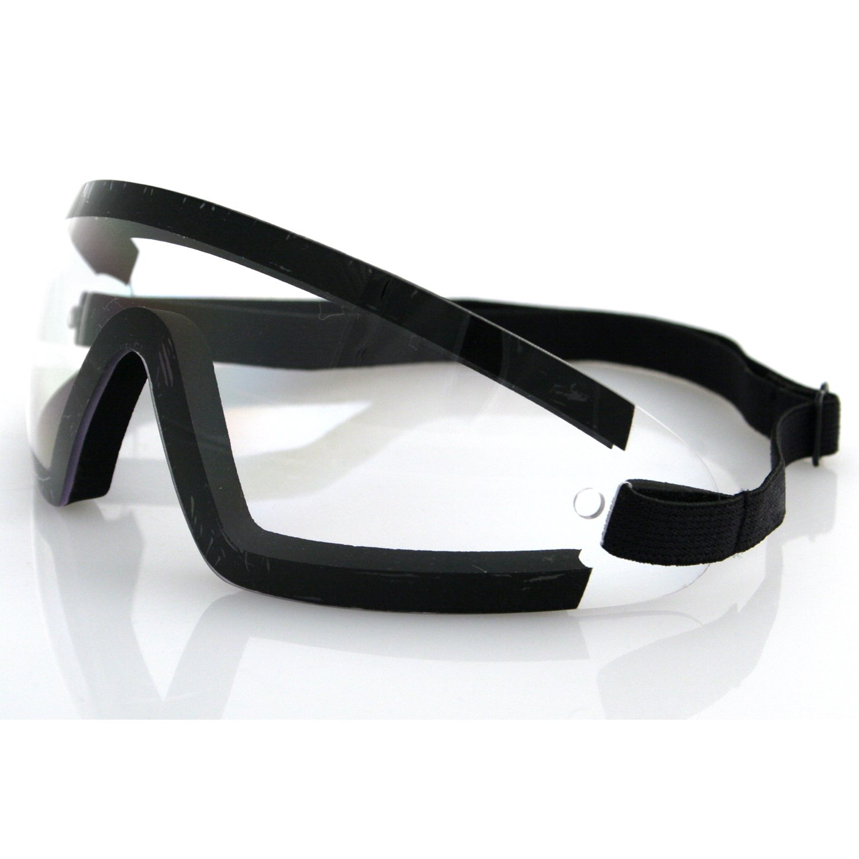 886e90c8e13 Bobster wrap around goggles black frame clear lens clothing jpg 1500x1500  Goggles black bobster cruiser