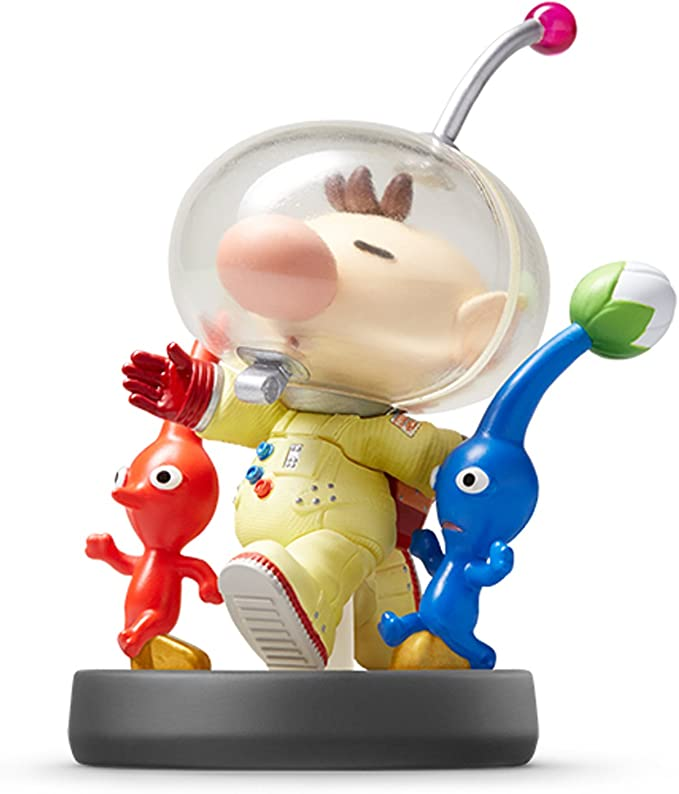 Amazon Com Pikmin Olimar Amiibo Japan Import Super Smash