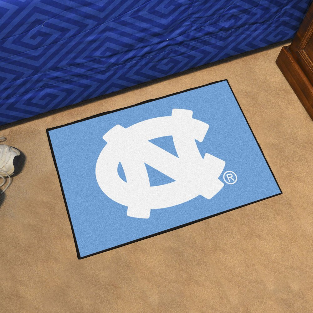 Fanmats Ncaa UNC North Carolina - Chapel Hill College Sports Team Logo Home Office Nylon Carpet Decorative Door Welcome Starter Rug Floor Mat 20''x30''