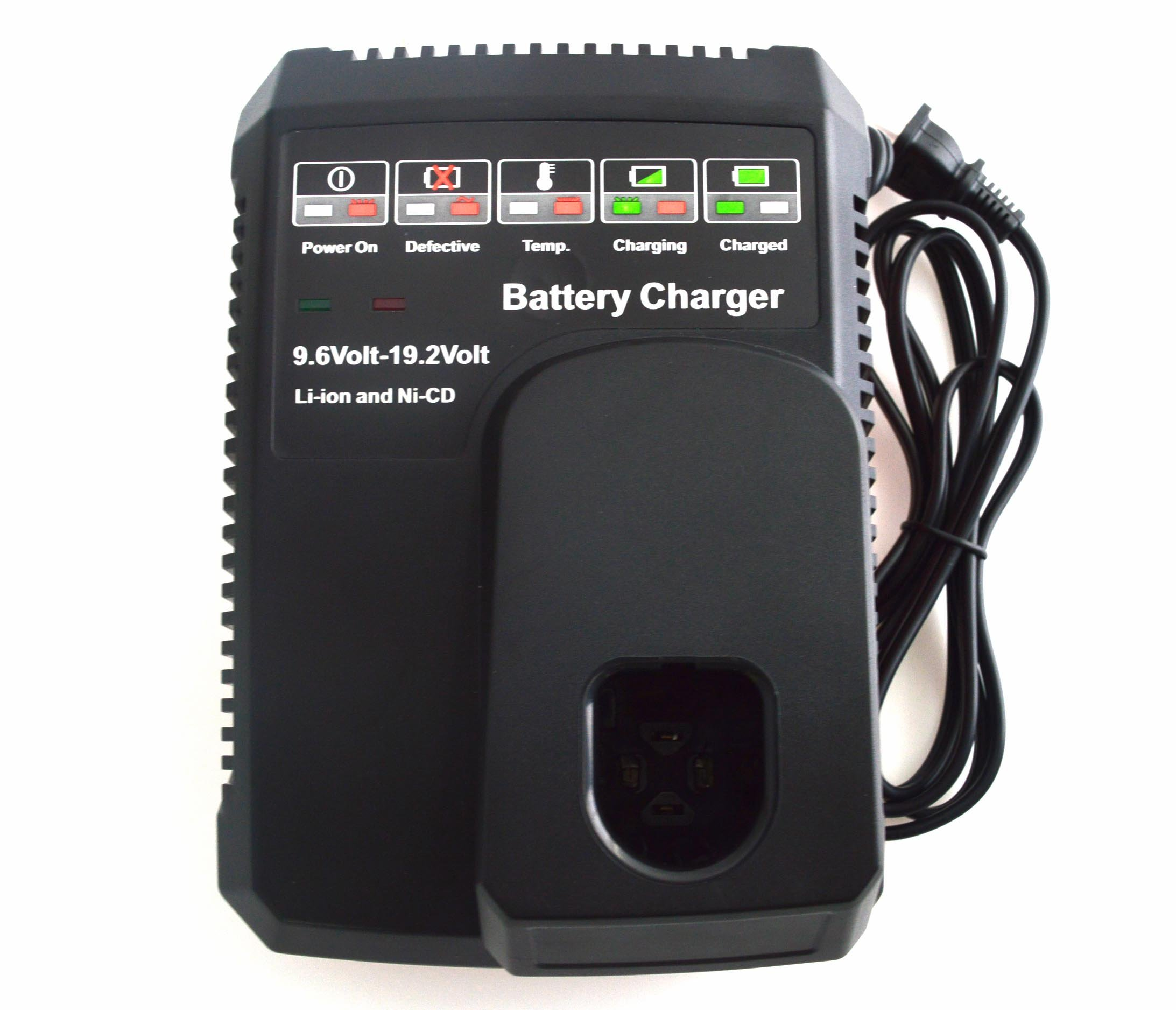 Janri Relacement Li-ion lithium ion & Ni-cd/Ni-Cad Ni-Mh power tool Battery Charger kit 9.6V MAX and 19.2V MAX For Craftsman C3 DieHard XCP 140152004 1425301 1323903 130279005 11375 11376 315.PP2011
