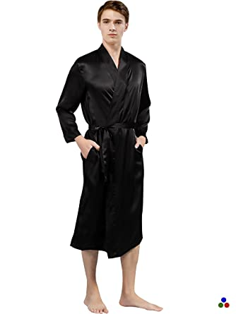 c3e60292f5 ElleSilk Men s Silk Robe