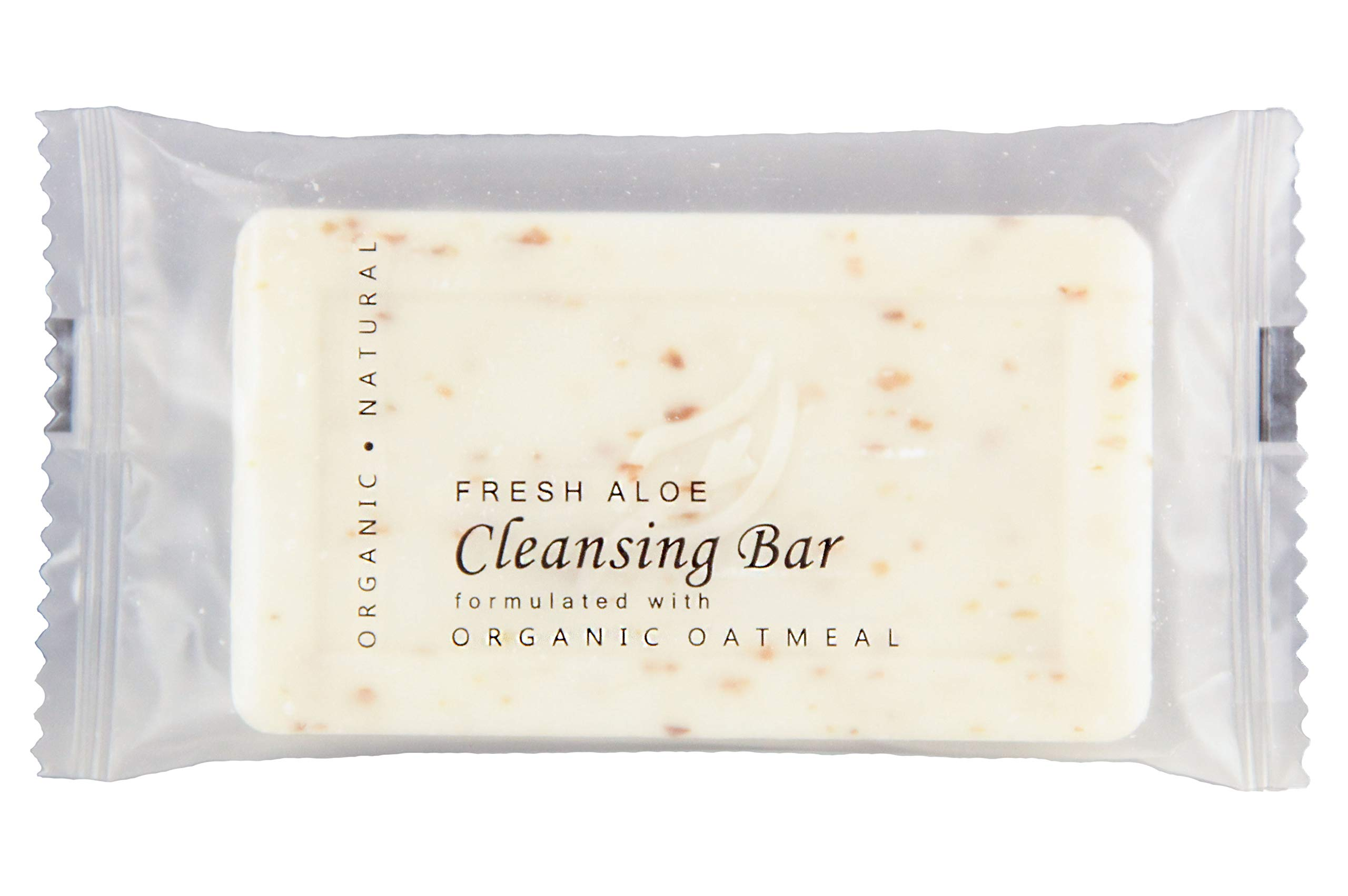 Oatmeal Cleansing Bar with Fresh Aloe, 1.25 oz. Hospitality Size Soap for Travel or Guest Bath (Case of 300)