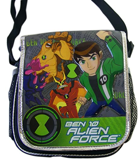 Amazon.com: Ben 10 Alien Force lunchpal – Ben 10 bolsa para ...