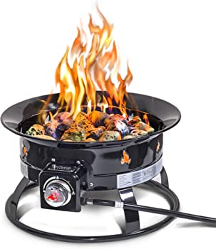 Outland Living Firebowl Portable Propane Gas Fire Pit