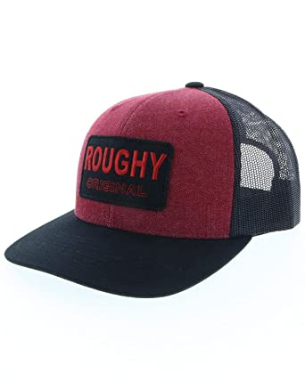 Hooey Men s Hooey Burgundy Roughy Original Trucker Cap Burgundy One Size 4c2619e0c8b