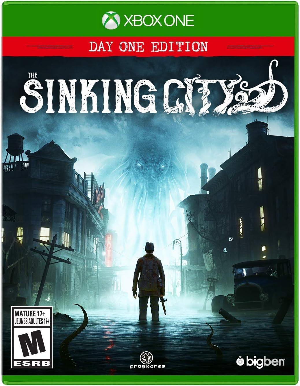 Amazon com: The Sinking City (XB1) - Xbox One: Maximum Games LLC