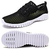 FCKEE Zapatos de Secado rápido de Malla para Hombre y Mujer
