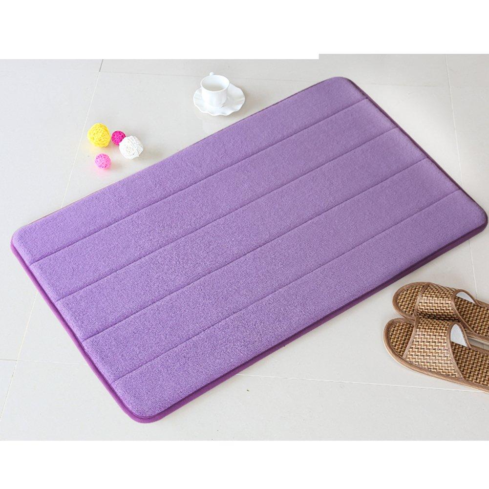 Bathroom mats/foot pad/toilet/bathroom door mats/non-slip suction bath mat-C 140x200cm(55x79inch)