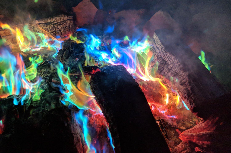 24 St/ück Mystisches Feuer