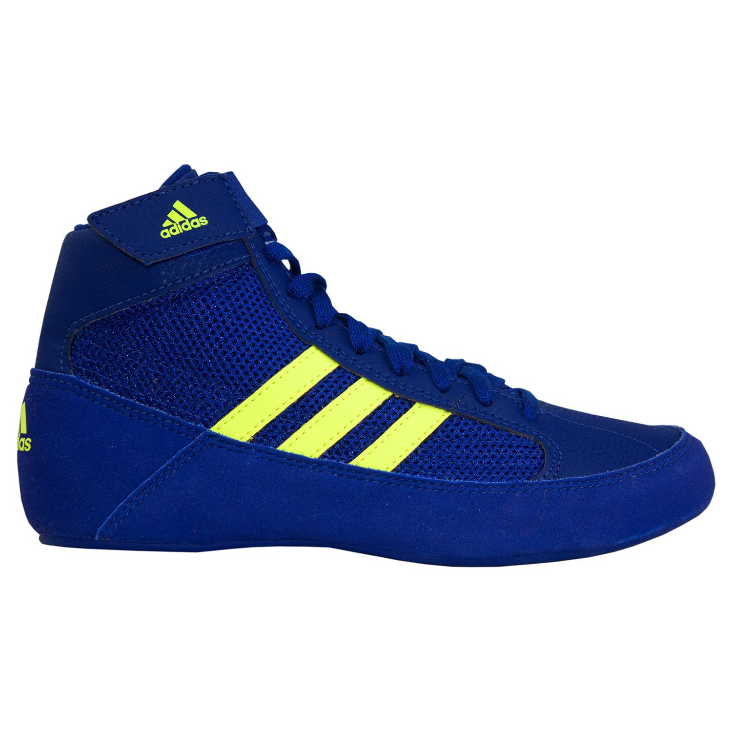 adidas Hvc 2 Royal Solar Yellow Wrestling Shoes Royal 2