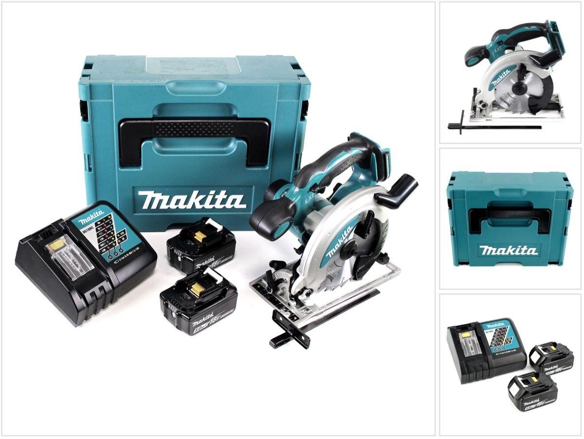 Makita DSS 610 rtj 18 V Batería Sierra circular de mano en Makpac ...