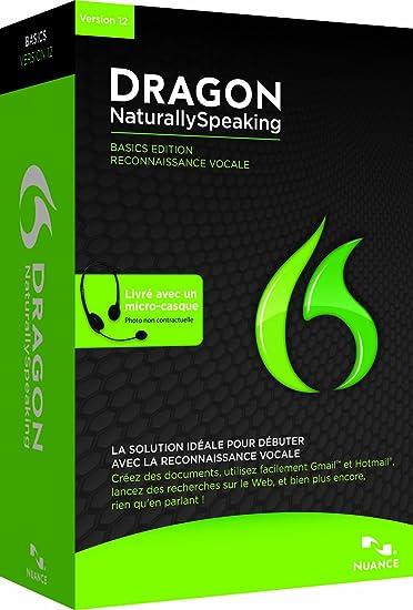 Amazoncom Dragon Naturallyspeaking Basics 12 French Old Version