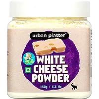 Urban Platter White Cheese Powder, 150g / 5.3oz [Premium Quality, Great On Popcorn, Flavorful]