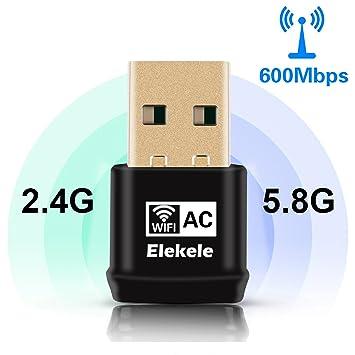 150 / 450mbps Receptor WIFI,WiFi USB Adaptador Antena WiFi Largo Alcance Adaptador Inal᭢rico USB Mini Receptor WIFI Dongle WiFi Adaptador USB Wifi del ...