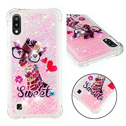 Amazon.com: DAMONDY Case for Samsung M10,A10,3D Cute Animal ...