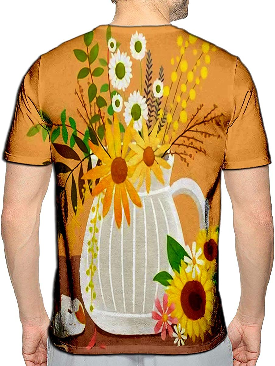 Randell 3D Printed T-Shirts Surfing Sketch Short Sleeve Tops Tees