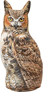 product image for Great Horned Owl Doorstop, Animal Door Stop, Decorative Owl
