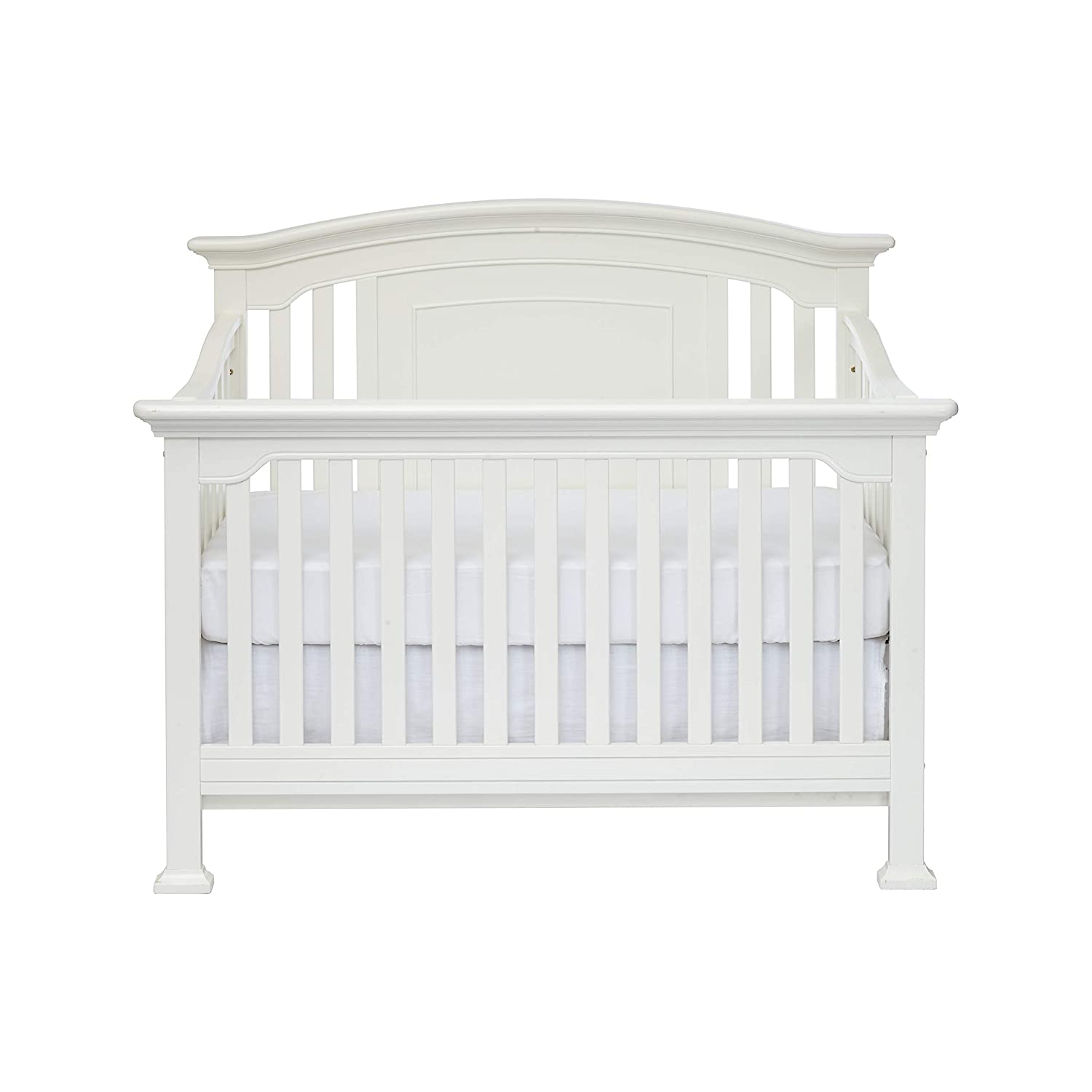 Centennial Medford 4-in-1 Convertible Crib White