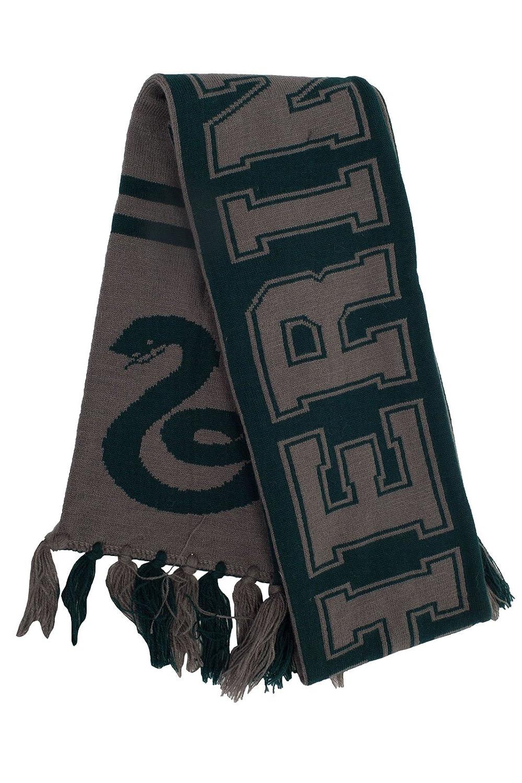 Amazon.com: elope Harry Potter Hogwarts House Reversible Knit Scarf ...