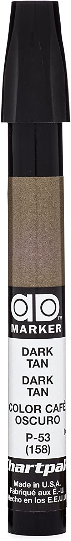 The Original Chartpak AD Marker, Tri-Nib, Dark Tan, 1 Each (P53)