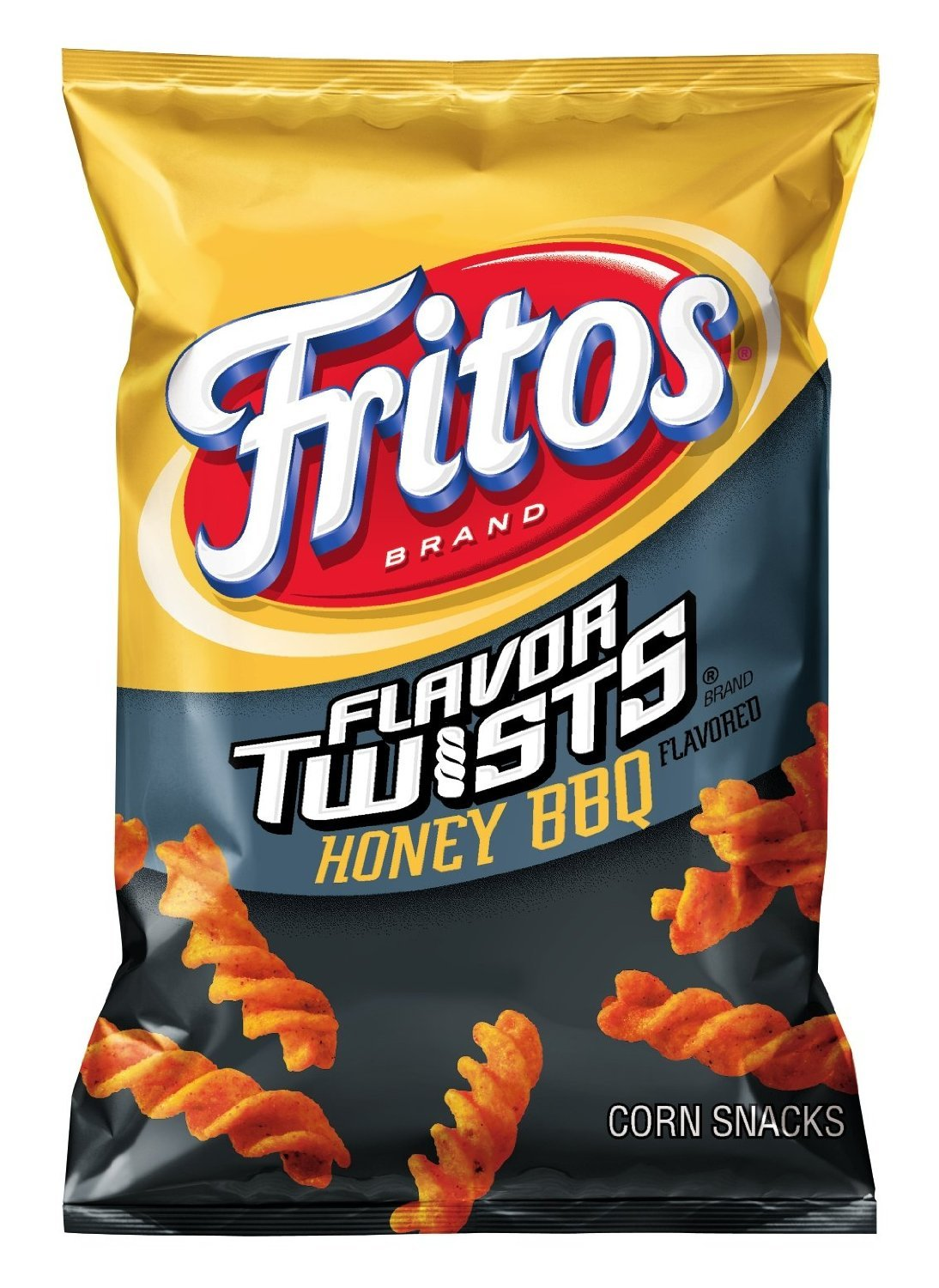Fritos Flavor Twists Honey BBQ Flavor Corn Chips, 9.75oz (10 Pack) by Fritos