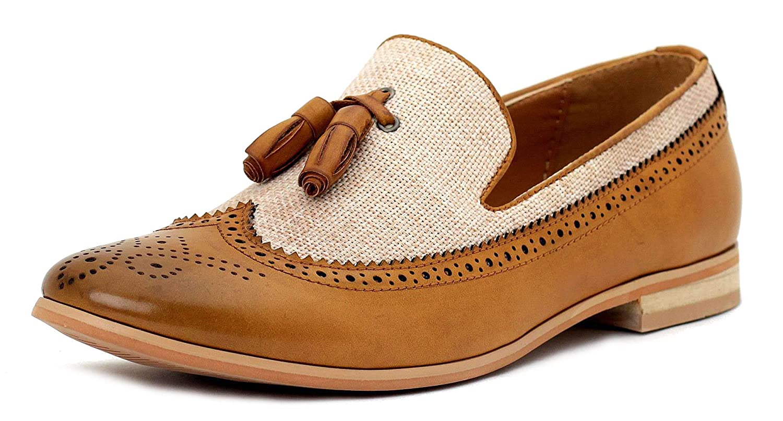 30dafff233d3e Hommes Élégant Robe Fashion à Enfiler Mocassins à Glands Décontracté  Chaussures de Bureau  Amazon.fr  Chaussures et Sacs