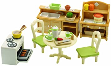 Exceptional Sylvanian Families Country Kitchen Set
