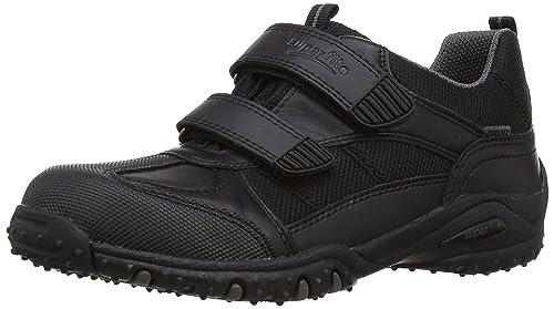 4d7bd6e4 Superfit Joe Boys Black Velcro Gore-Tex School Shoes: Amazon.co.uk: Shoes &  Bags