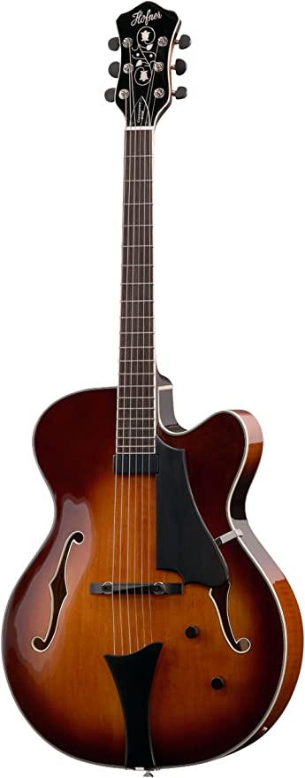 Hofner HCT único Pickup Jazz Guitarra – Sunburst: Amazon.es ...