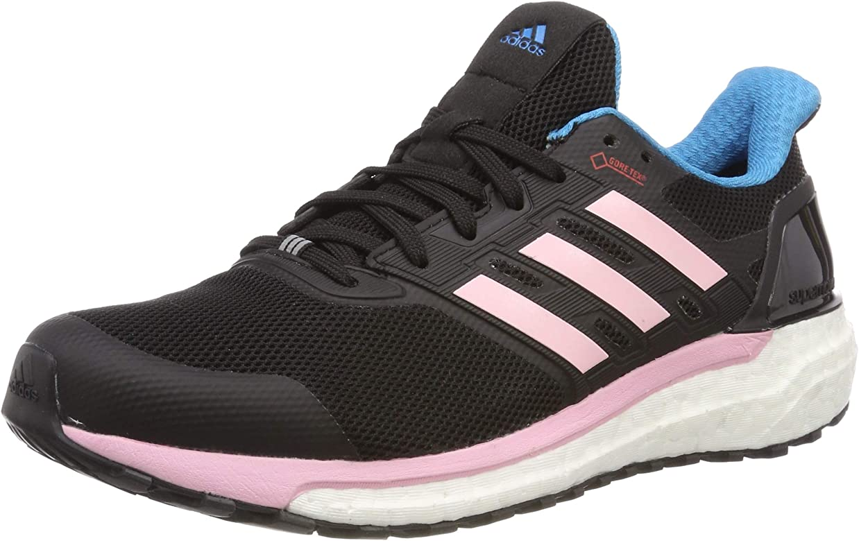 adidas Supernova GTX W, Zapatillas de Running para Mujer, Negro (Core Black/Shock Cyan/True Pink Core Black/Shock Cyan/True Pink), 42 EU: Amazon.es: Zapatos y complementos
