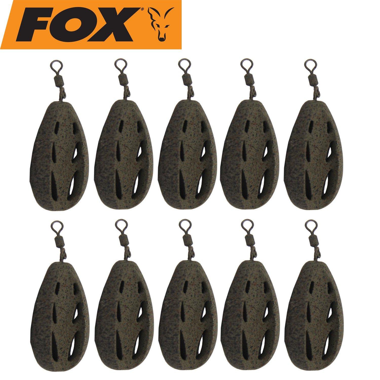 Karpfenangeln Fox Paste Bomb Method Karpfenbleie Futterspirale Wirbelbleie Bleie Blei Karpfenmontage Angeln auf Karpfen
