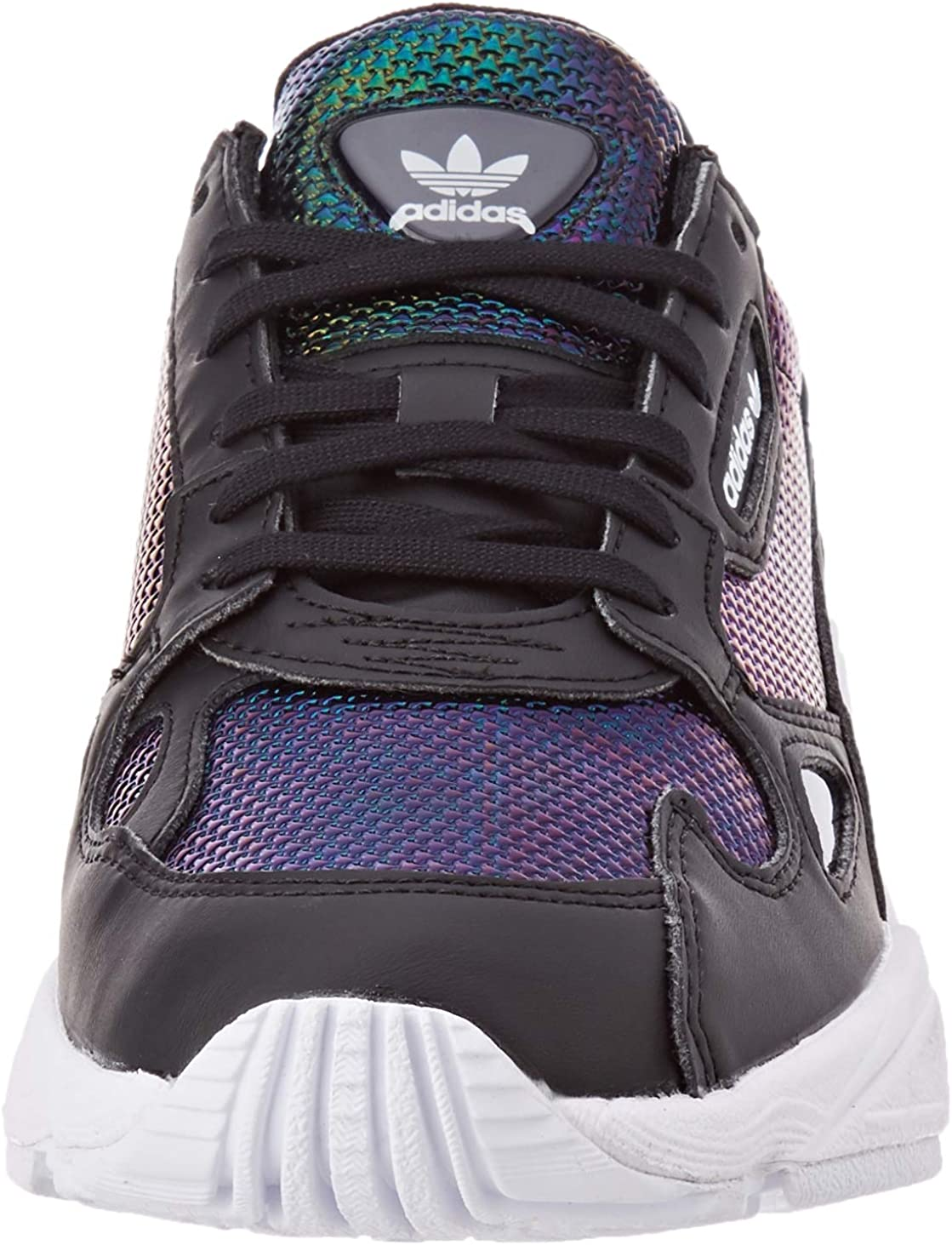 adidas Falcon W, Basket Femme Core Black Ftwr White Mystery Ruby F17