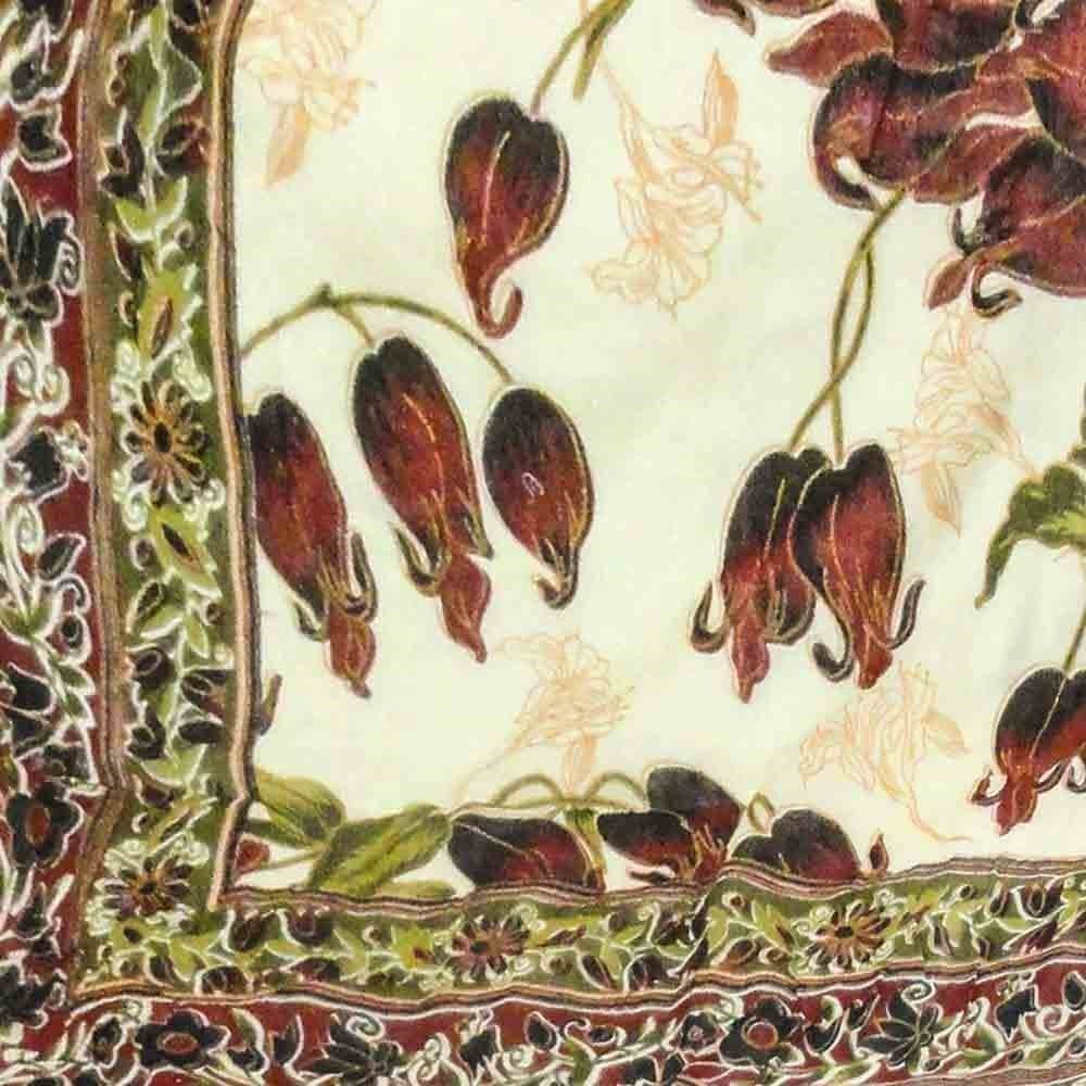 Little India Ethnic Floral Print Multicolor Double Bed AC Dohar 303 by Little India (Image #3)