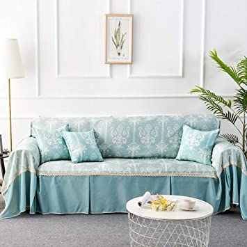 Amazon.com: SANDM Floral Printed Anti-Slip Sofa slipcover, 1 ...