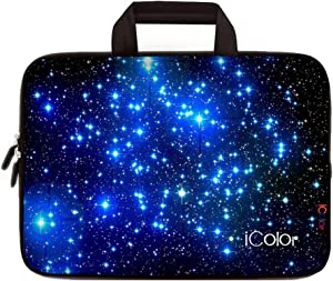 iColor Starry Neoprene Sleeve Case with Handle for 15-15.6 Inch Laptop(IHB15-003)