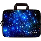 iColor Starry Ultra-Portable Neoprene Carrying Protective Case Sleeve Briefcase Pouch Bag Tote with Handle Fits 11.6 12…