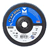 Mercer Industries 263080 Zirconia Flap Disc, High