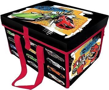 Hot Wheels Caja Guarda Coches: Amazon.es: Juguetes y juegos
